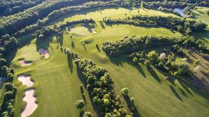 Golf Club Würzburg, Green 7+15, Tee 8